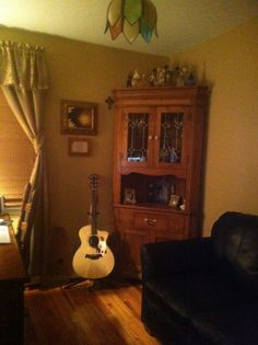My music room at home..there's my Taylor guitar..8-)