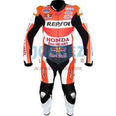 Honda Repsol Dani Pedrosa 2015 Red Bull Motogp Race Leather Suit