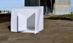 compact shelter for homeless people, by Alastair Pryor