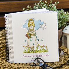 Libro de Comunión para guardar tus recuerdos y firmas de invitados