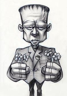 More pencil sketches by rigo velez, via Behance