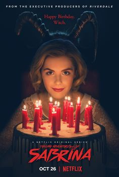 Die Netflix-Serie Chilling Adventures of Sabrina bietet ein Poster. Die Netflix-Serie Chilling Adventures of Sabrina bietet ein Poster. Shows On Netflix, Netflix Series, Series Movies, Netflix Tv, Hulu Tv, Netflix Recommendations, Netflix Netflix, Movies Box
