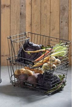 Shop for Bronx Two Tier Fruit And Veg Storage at Next USA. International shipping and returns available. Buy now! Wire Basket Storage, Wire Storage, Cutlery Caddy, Coffee Pod Storage, Pantry Organisation, Wooden Basket, Oven Glove, Buy Kitchen, Kitchen Ideas