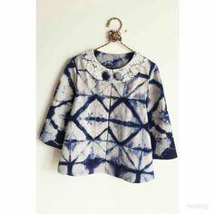 Batik Blazer, Blouse Batik, Batik Dress, Blouse Dress, Batik Fashion, Hijab Fashion, Girl Fashion, Mode Batik, Batik Kebaya