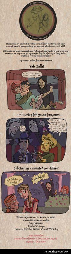 Private Eye Snape