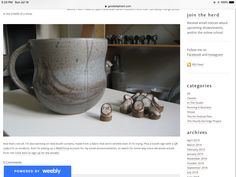Pottery Booth Display, Rss Feed
