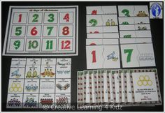 12 Days of Christmas Matching Board + Song Flashcards + Puzzles Autism  from Creative Learning 4 Kidz Autism Resources on TeachersNotebook.com -  (10 pages)  - 12 Days of Christmas Song Board - Flashcards & Puzzles for autism