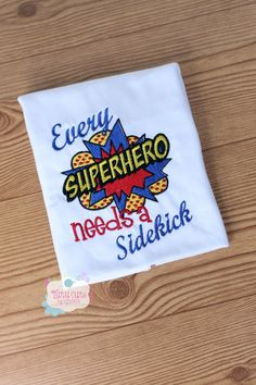Every superhero needs a sidekick by TutuCutebyKristina on Etsy