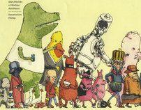 The first in line, the sketchbooks of Mattias Adolfsson by Mattias Adolfsson, via Behance