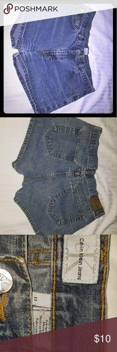 Calvin Klein Shorts Denim 11 Good pre-loved condition. Calvin Klein Shorts Jean Shorts