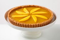 Mmmmmango Tart recipe - Yes, there's such a thing as mango-flavored JELL-O, and now's the time to look for it. Along with fresh mangoes, it's what makes this tart mmmmagnificent!