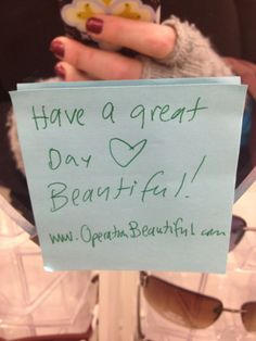 Operation Beautiful! | One Good Thing by Jillee