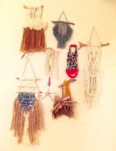 Mini Macrame Wall Hanging.