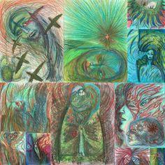 境界 Border. SoulTouch Coloring Journals  created by Deborah Koff-Chapin. Colored by 田中 洋一郎 ( Yo+ichirou Tanaka )  #タッチドローイング #TouchDrawing #SoulTouch塗り絵 #SoulTouchColoringJournals #ソウルタッチ塗り絵 #コロリアージュ #大人の塗り絵 #coloriage #仙台 #sendai #coloring #creativelycoloring #coloringforadults #coloringbook #coloringbookforadults #coloringforadult #おとなの塗り絵 #おとなのぬり絵 #おとなのぬりえ #adultcoloringbook #プリズマカラー #カリスマカラー #prismacolor #karismacolor