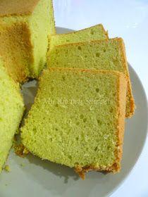 My Kitchen Snippets: Pandan Chiffon Cake