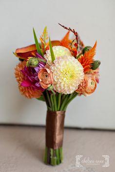 pretty orange bouquet