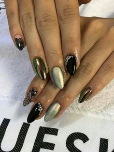 Gorgeous Nails, Pretty Nails, Lady Fingers, Super Nails, Gel Nail Designs, Beautiful Nail Designs, Art Nails, Creative Nails, Almond Nails