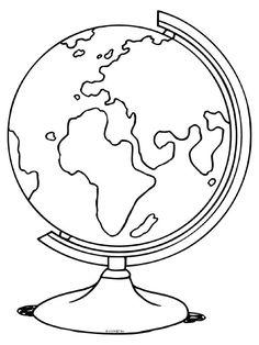Malvorlage Globus Malvorlagen Globus