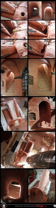 Domus project 42: Miniature brick staircase (part III) The Domus project is the construction in scale 1:50 of an imaginary medieval palace. It's made of clay, stones, slate, wood and other construction materials in the style of rich genoese buildings from the middle of XIV century.