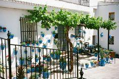 Iznajar, Spain where all the newly married couples go to do wedding photos