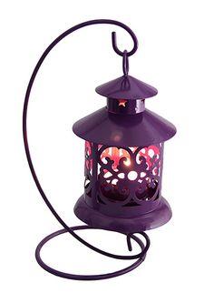 Hanging Purple Decorative Lantern