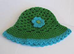 Sommermütze aus 100% Baumwolle für Baby Mädchen