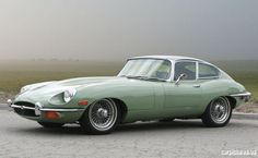 1969 Jaguar E-Type Series II 4.2-Liter Fixed Head Coupe. The first car I fell in love with.