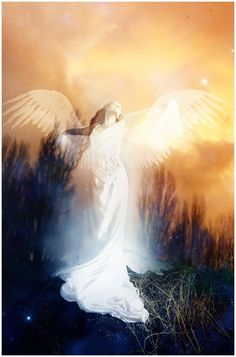 Angels appear to us as we would like to see them. In truth, they are more energy than form.❤