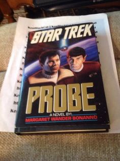 Star-Trek-Probe-A-Novel-By-Margaret-Wander-Bonanno-Hard-Cover-Spock #ebay #book #startrek #kenblackcat
