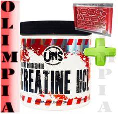 nowość Cena: 74,99 zł UNS - Creatine HCL 250g 200 Porcji Kreatyna   próbka