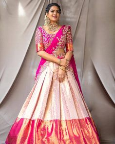 Party Wear Indian Dresses, Indian Gowns Dresses, Indian Bridal Outfits, Indian Bridal Fashion, Indian Fashion Dresses, Indian Designer Outfits, Bridal Sarees South Indian, Party Wear Lehenga, Wedding Outfits