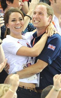 The Royals show some PDA!