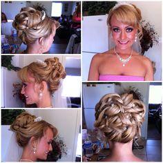 Cinderella updo. #signaturebrides lindsayleehair.blogspot.com