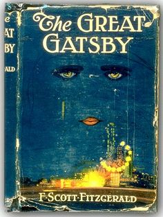 "Vintage ""The Great Gatsby"" book cover...must reads."