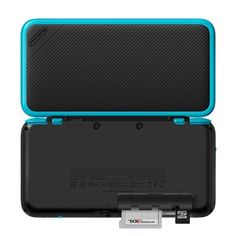 New Nintendo 2DS XL – Black and Turquoise