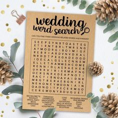 49 ideas engagement party games printables word search for 2019 Fun Bridal Shower Games, Bridal Games, Printable Bridal Shower Games, Bridal Shower Decorations, Bridal Showers, Wedding Decorations, Engagement Party Games Printables, Engagement Invitations, Party Invitations