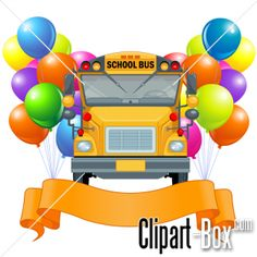 CLIPART SCHOOL BUS BANNER