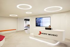 Cool offices: Sony Music HQ in Madrid, Spain