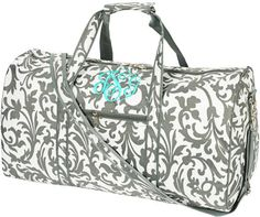Personalized Large Duffle Bag Monogrammed Most Wanted Travel Luggage Tote With Name