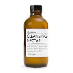 Fig + Yarrow CLEANSING NECTAR   5 STARS   Love!  Perfect for nights when you are to tired to wash your face