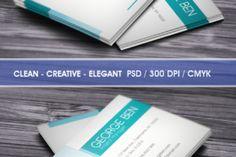 Clean Business card - Creative Fabrica