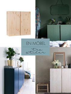 IKEAs Ivar – på tre sätt! (Husligheter)