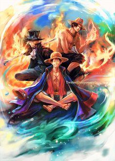 つよ丸 @tsuyomaru1a Lion Wallpaper, Manga Anime One Piece, Painting, Anime Siblings, Art, Anime Wallpaper, Fan Art, One Piece Luffy