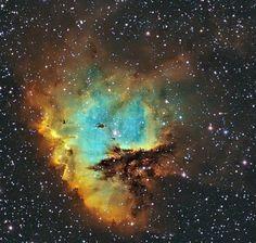 The Pacman Nebula - image credit:  NASA