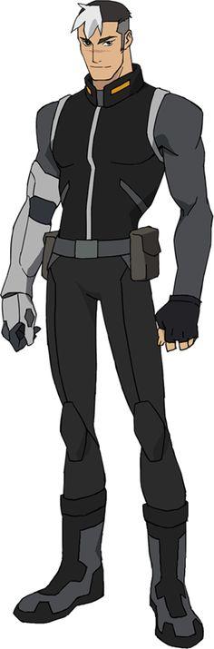 Voltron Legendary Defender- Shiro