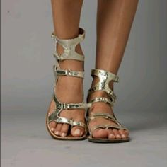 Sam Edelman gladiator sandals Animal print! Amazing condition, worn only once. Box not included Sam Edelman Shoes Sandals