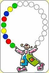 Patterns About Colors Preschool Circus, Circus Crafts, Educational Activities, Preschool Activities, Math Patterns, Do A Dot, Circus Theme, Kindergarten Worksheets, Kids Education