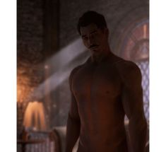 Dorian's Sweat Appreciation Post(Chest) (Back) (Full Body)