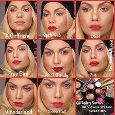 gwen stefani lipstick urban decay - Google Search