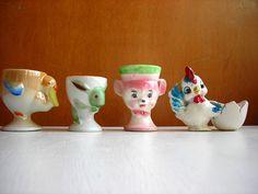 Egg cups- Fun egg cups
